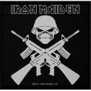IRON MAIDEN A Matter Of Life & Death Woven Patch