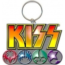 KISS Logo & Icons Μπρελόκ