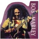 BOB MARLEY Playing Guitar Αυτοκόλλητο Βινυλίου