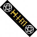 HIM Logo Ραφτό Σήμα Λωρίδα