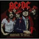 AC/DC Highway To Hell Woven Patch