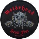 MOTORHEAD Iron Fist Ραφτό Σήμα
