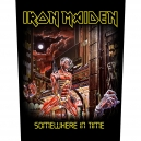 IRON MAIDEN Somewhere In Time Back Patch