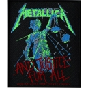 METALLICA ...And Justice For All Ραφτό Σήμα