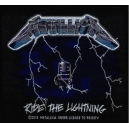 METALLICA Ride The Lightning Ραφτό Σήμα