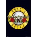 GUNS' N 'ROSES Logo Αφίσα