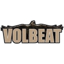 VOLBEAT Raven Logo Cut Out Ραφτό Σήμα