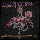 IRONMAIDEN Seventh Son Of A Seventh Son Woven Patch