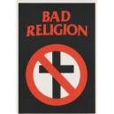 BAD RELIGION Logo Κάρτ Ποστάλ