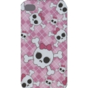 GIRLY SKULLS & BONES Cover iPhone 4G / 4GS