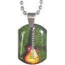 ROCK GUITAR IN GREEN Κόσμημα Λαιμού