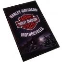 HARLEY DAVIDSON Motorcycles Logo Ξύλινο Μαγνητάκι Ψυγείου