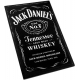 JACK DANIEL'S Tennessee Whiskey Black Ξύλινο Μαγνητάκι Ψυγείου