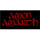 AMON AMARTH Red Logo Ραφτό Σήμα