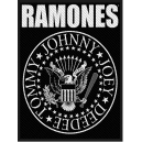 RAMONES Logo & Seal Woven Patch