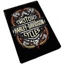 HARLEY DAVIDSON Oriental Logo Ξύλινο Μαγνητάκι Ψυγείου
