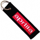 APRILIA Red Logo Patch Embroidered Μotorbike Keyring