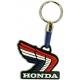 HONDA Winged Logo 3D Rubber Μπρελόκ Μοτοσυκλέτας