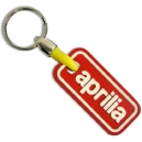 APRILIA Red Logo 3D Rubber Μotorbike Keyring
