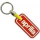 APRILIA Red Logo 3D Rubber Μπρελόκ Μοτοσυκλέτας