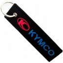 KYMCO Blue Logo Patch Embroidered Μotorbike Keyring