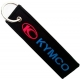 KYMCO Blue Logo Patch Ραφτό Μπρελόκ Μοτοσυκλέτας