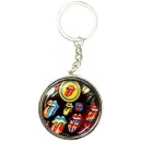 THE ROLLING STONES Tongues Pocket Ashtray Keyring