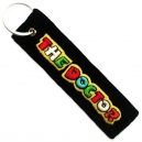 THE DOCTOR Valentino Rossi Patch Embroidered Μotorbike Keyring