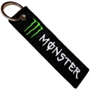 MONSTER Patch Embroidered Keyring