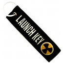 LAUNCH KEY Theme Patch Embroidered Μotorbike Keyring