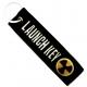LAUNCH KEY Theme Patch Ραφτό Μπρελόκ Μοτοσυκλέτας