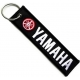YAMAHA Red White Logo Patch Ραφτό Μπρελόκ Μοτοσυκλέτας
