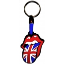THE ROLLING STONES Union Jack Keyring
