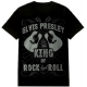 ELVIS The King Of Rock N Roll Official T-Shirt