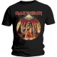 IRON MAIDEN Powerslave Lightning Circle Official T-Shirt