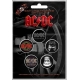AC/DC For Those About To Rock 5pcs Set Official Kονκάρδες