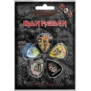 IRON MAIDEN The Faces Of Eddie 5pcs Set Official Πένες Κιθάρας