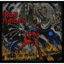 IRON MAIDEN Number Of The Beast Ραφτό Σήμα