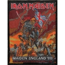 IRON MAIDEN Maiden England '88 Woven Patch