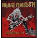 IRON MAIDEN Fear Of The Dark Live Woven Patch