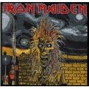 IRON MAIDEN Iron Maiden Album Ραφτό Σήμα