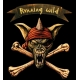 RUNNING WILD Pirate Bones Logo Μπρελόκ Διπλής Όψης
