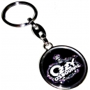 OZZY OSBOURNE Logo & Face Double Sided Keyring