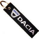 DACIA Patch Embroidered Car Keyring