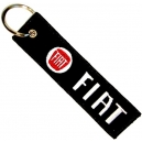 FIAT Patch Embroidered Car Keyring