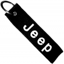 JEEP Patch Embroidered Car Keyring