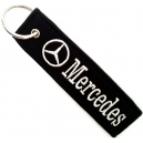 MERCEDES Patch Embroidered Car Keyring