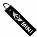 MINI COOPER Patch Embroidered Car Keyring