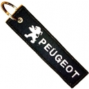 PEUGEOT Patch Embroidered Car Keyring