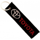 TOYOTA Patch Embroidered Car Keyring
